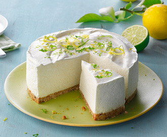 Philadelphia - Recipe - Cheesecake med citron och lime