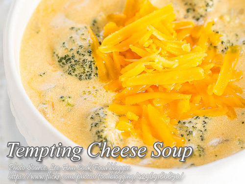 Tempting Cheese Soup