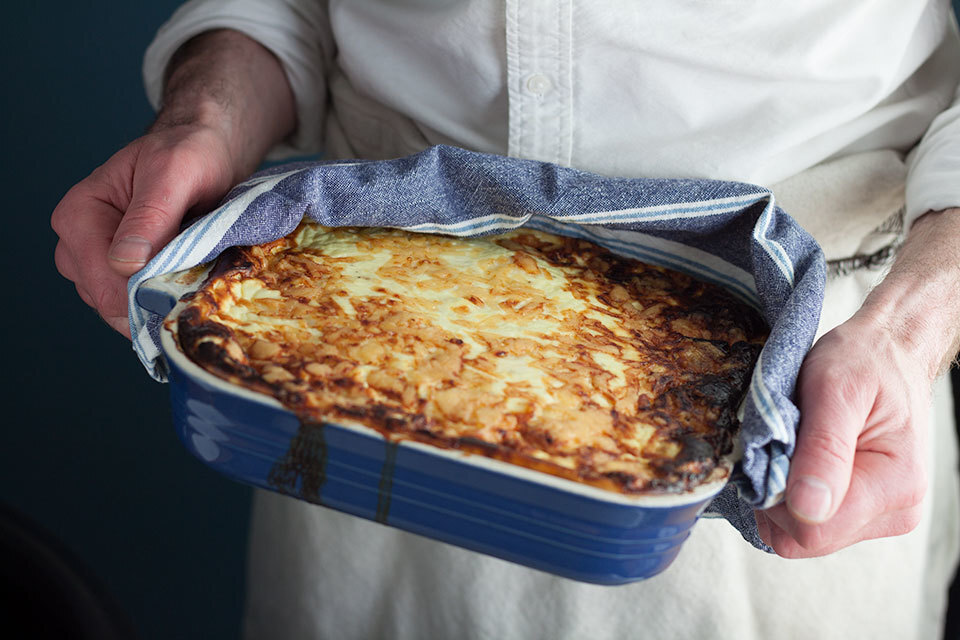 Easy moussaka