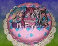 TORTAS MONSTER HIGH