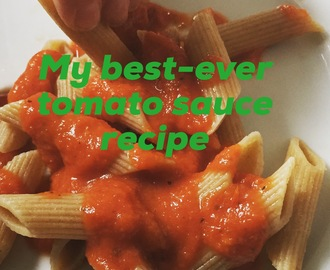 Quick and Easy: The Best Tomato Sauce for Pasta that I've Ever Made (According to My Kids)