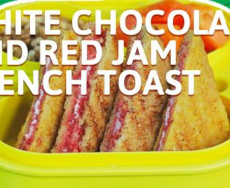 Chocolate And Jam French Toast