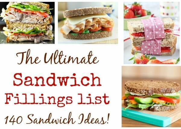 The Ultimate List of Sandwich Fillings