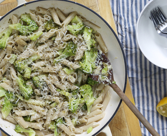 Broccoli pasta (capers, anchovies and garlic)