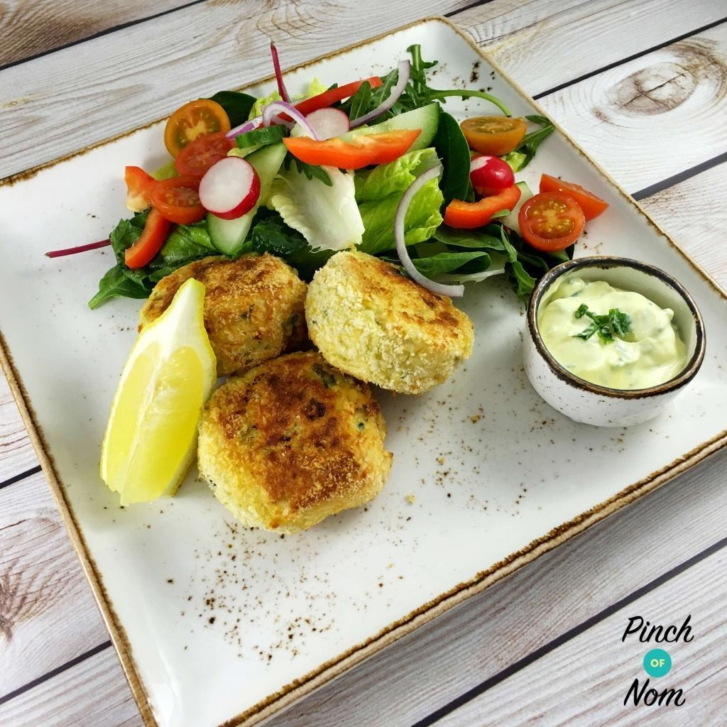 Low Syn Smoked Haddock & Spring Onion Fishcakes | Slimming World