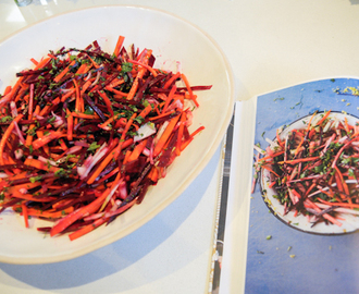 Yotam's Root Vegetable Slaw