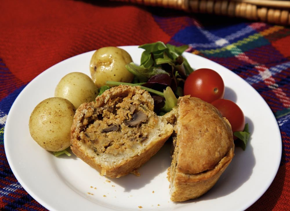 Vegan Picnic Pies for National Vegetarian Week 2016
