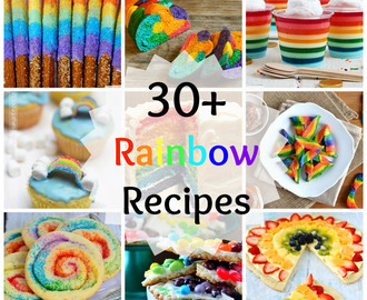 25+ Magical Rainbow Recipes!