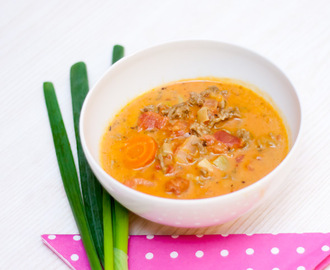 Low Carb Tomaten Parmesan Suppe