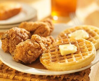 RECIPE: Fried Chicken & Waffles (new one on us!)