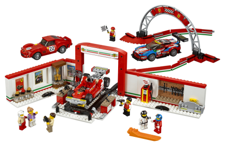 Ultimat Ferrari-verkstad - LEGO Speed champions 75889