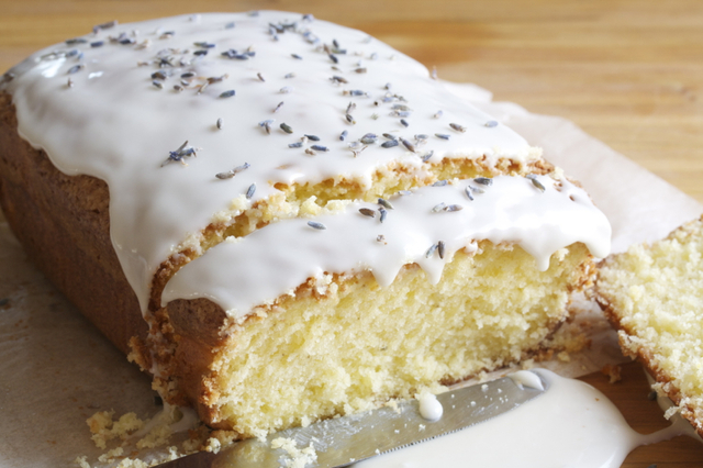 Lavender Lemon Pound Cake (Tea Time)