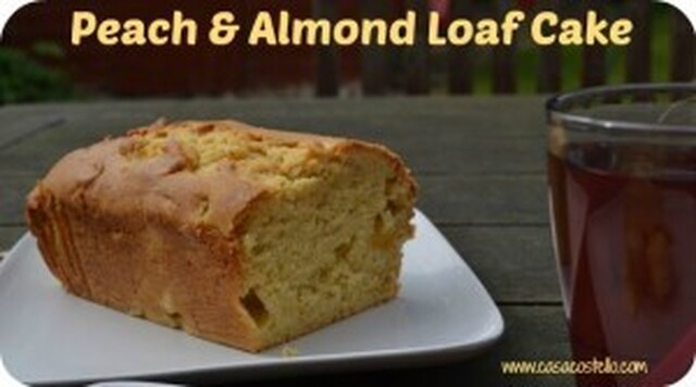 Peach & Almond Loaf Cake – Bake of the Week