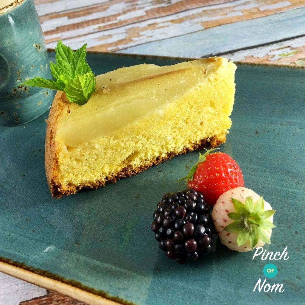 3.5 Syn a Slice Pear and Almond Sponge | Slimming World