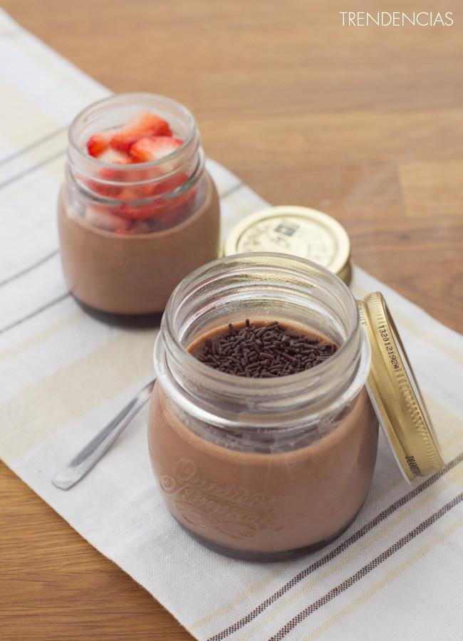Panna Cotta de Nutella.