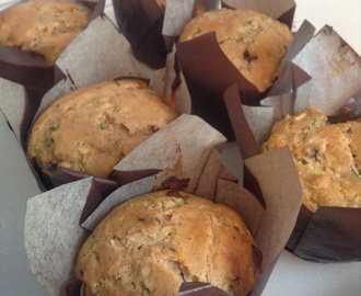 Miss Abbey's Zucchini chocolate chip muffins ( Gluten Free )