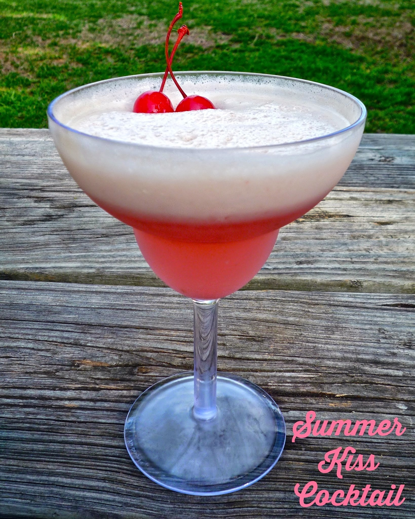 Kicking Off Summer with a Summer Kiss Cocktail...and a Pina Colada Fizz Mocktail!