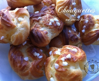 Chouquettes au Cooking Chef