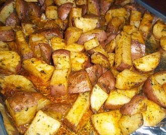 Buttery Garlic Red Potatos