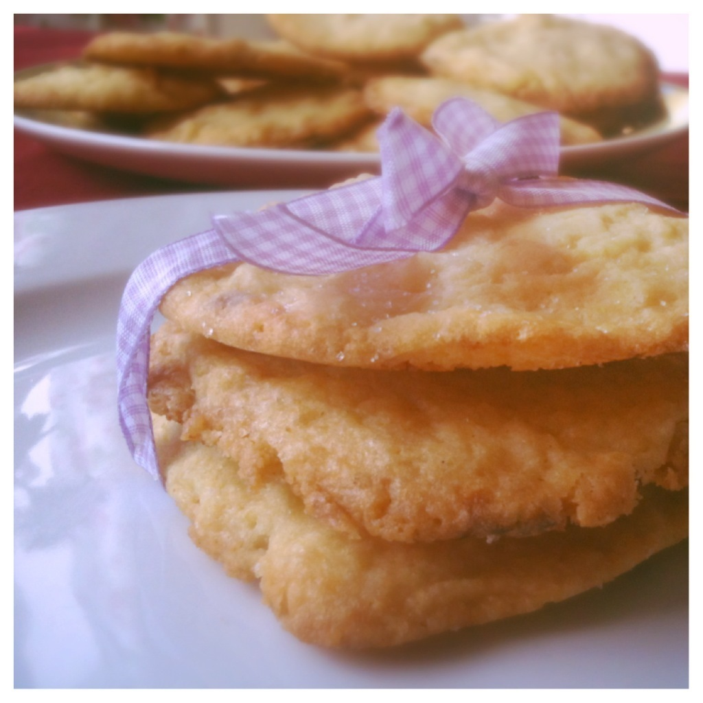 Heute gibt es Cookies! White Chocolate Macadamia Cookies