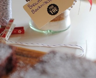 Christmas Cookie Club: 8. Türchen - DIY Browniebackmischung von Sweet Pie