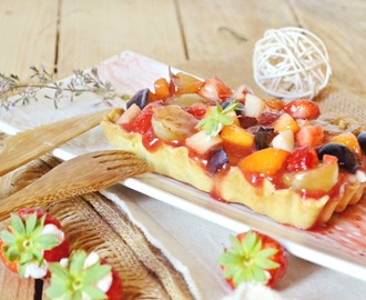 Multi fruits – Tartelettes aux fruits, brousse et coulis