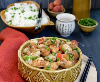 Chinese Style Lychee Chicken