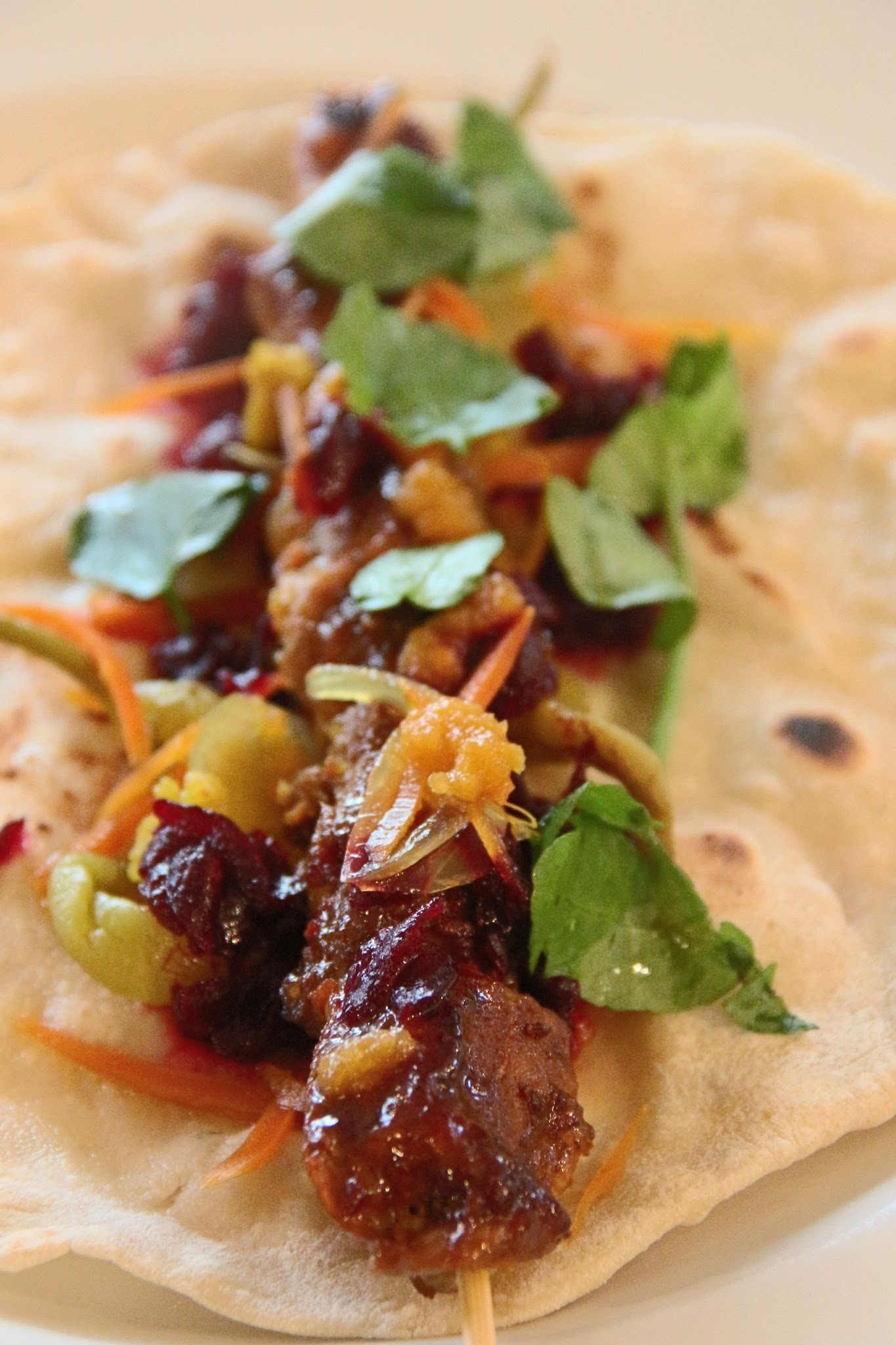 SWEET STICKY AROMATIC PORK KEBABS