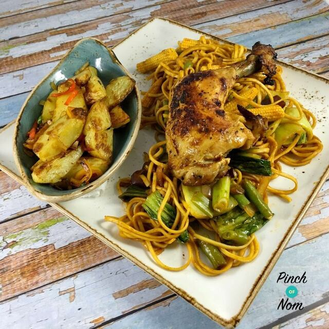 Syn Free Sticky Chilli Chicken with Noodles | Slimming World