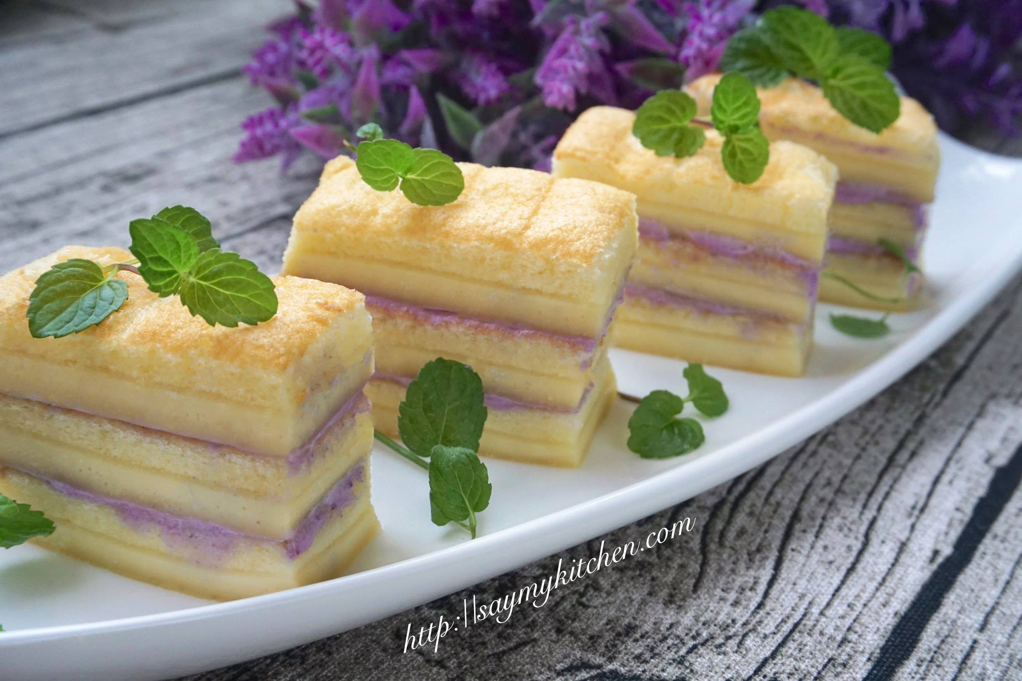 Layered Japanese Cotton Soft Cake 另类日式棉花蛋糕