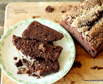 Chocolate Coconut & Buttermilk Loaf Cake