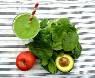 Essential green smoothie recipe for energy and clear skin
