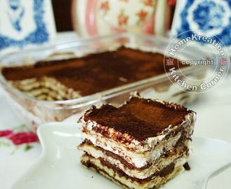 Double Cheese Chocolate Tiramisu