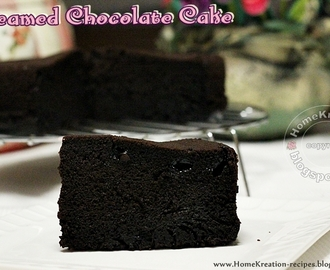Steamed Chocolate Cake (Kek Coklat Kukus)
