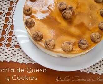 Tarta de Queso y Cookies Chips Ahoy