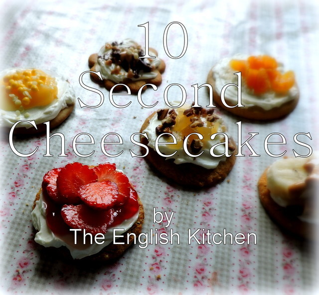 10-Second Cheesecakes