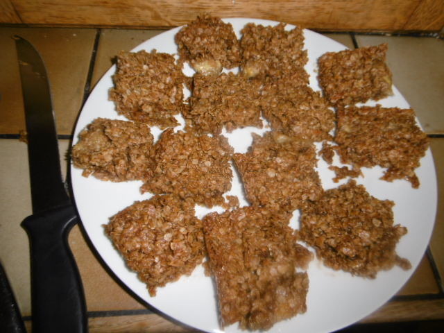 Madhouse recipe : Banana & Coconut Flapjacks