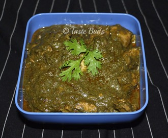 Palak / Spinach Chicken Curry