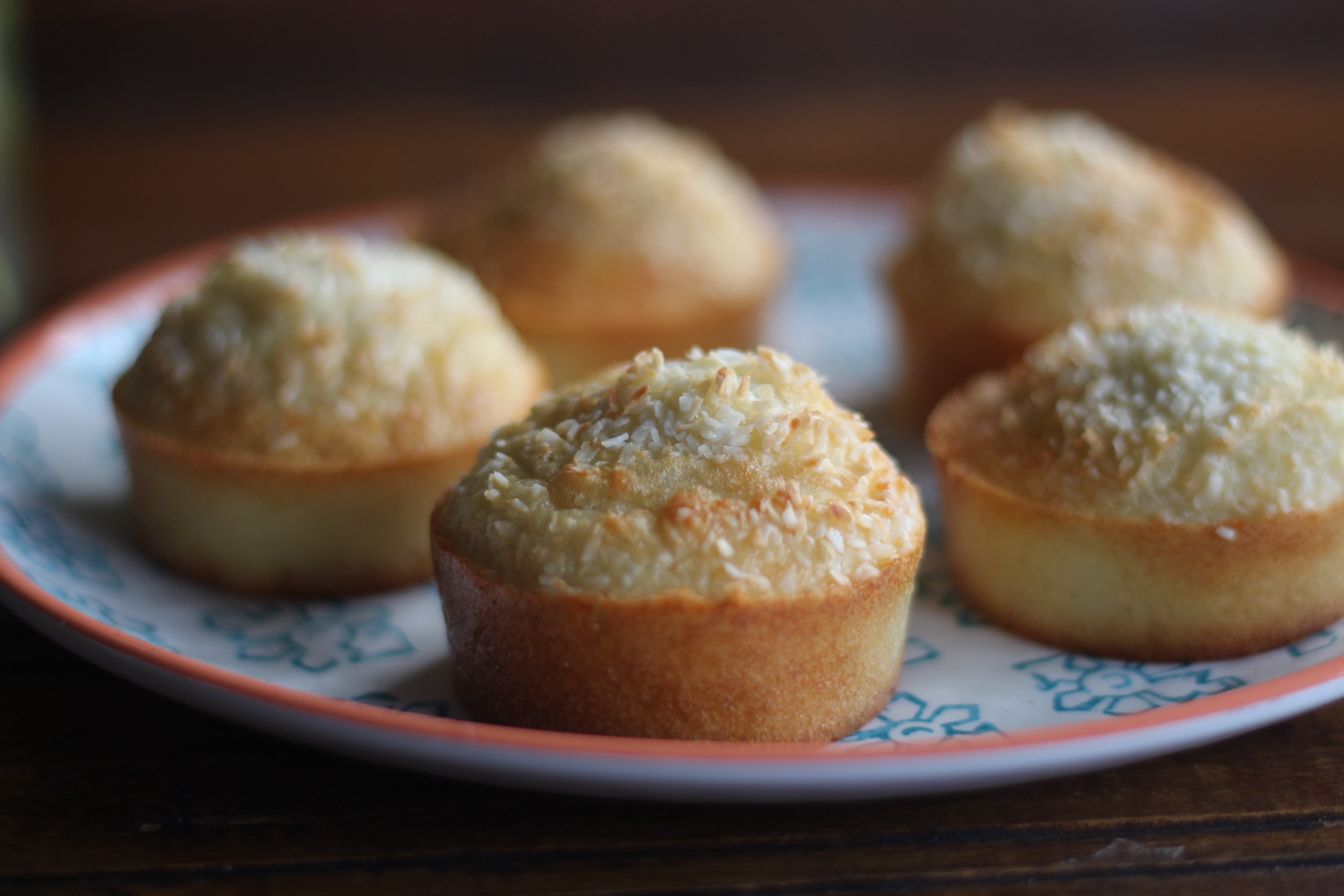 Healthy Coconut Fairy Cakes
