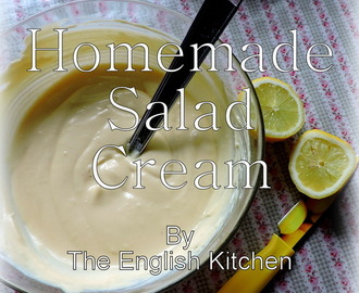 Homemade Salad Cream