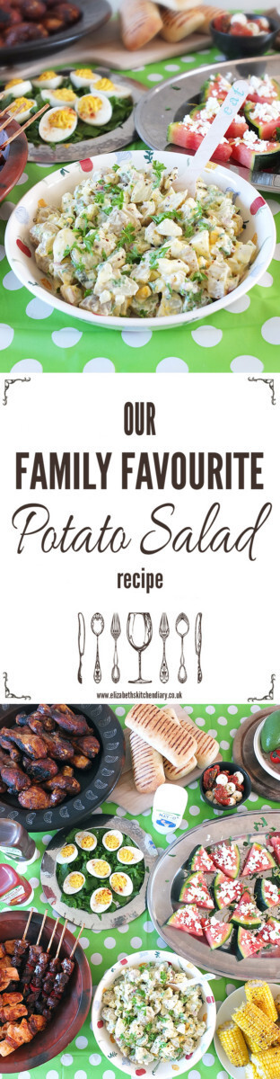 Our Family Favourite Potato Salad Recipe