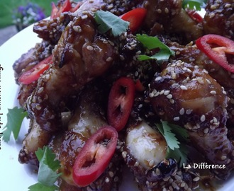 Spicy Sticky Chicken Wings