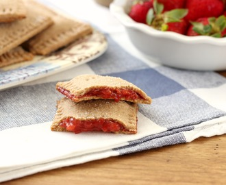 Strawberry Graham Toaster Pastries (100% Whole Wheat)