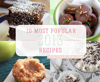 10 Most Popular Recipes of 2013