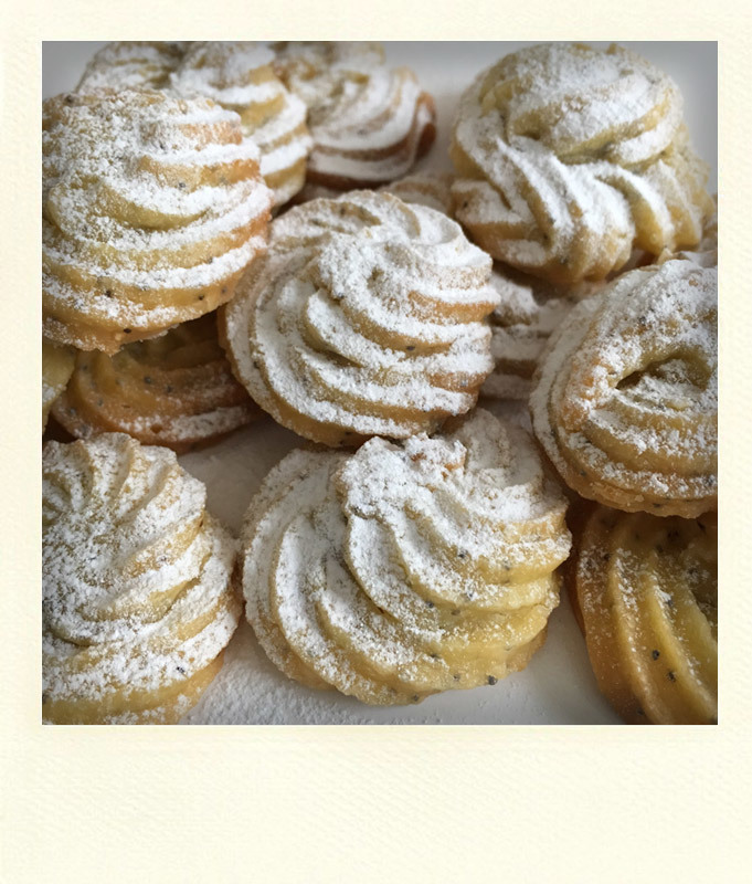 LEMON & POPPY SEEDS BISCUITS - SUGAR AND GLUTEN FREE