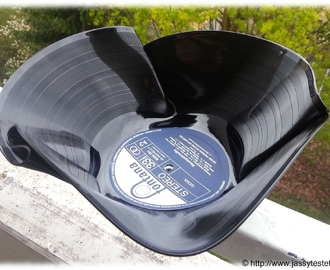 Do it Yourself (DIY) - Schallplatten-Schüssel