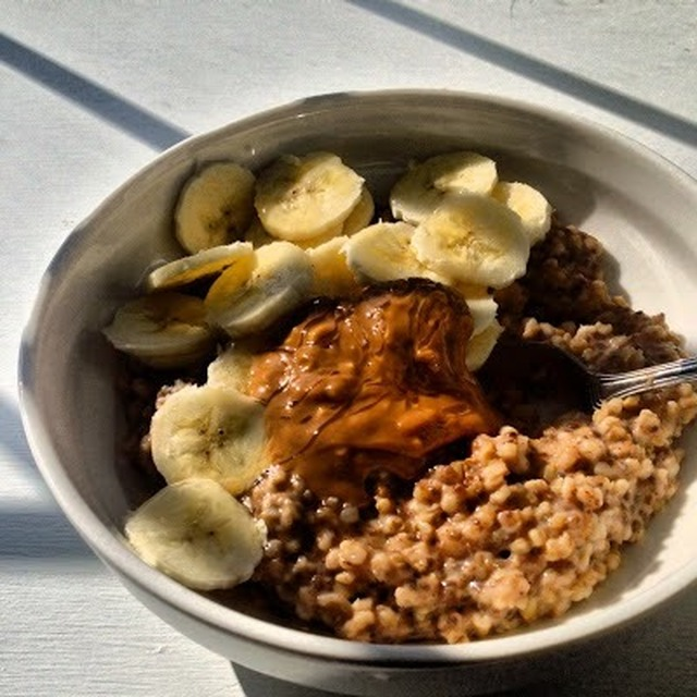 """Oatmeal"" (low carb, grain free, Paleo, healthy, high fibre, low fat)"