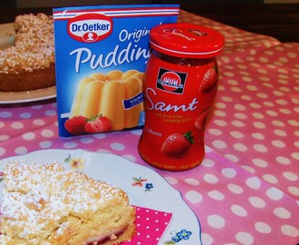 Last Minute Cake – Streusel-Pudding-Kuchen