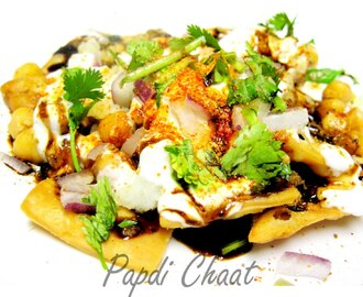 PAPDI CHAAT! Coming over for a chat?