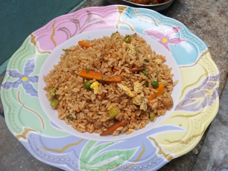 Egg Fried Rice - Lunch Box Ideas / Leftover Rice Recipes